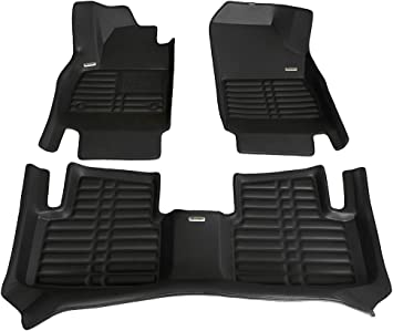 CLEAR VINYL 4-Piece Chevrolet A-C Heavy Duty Floor Mat Protectors CUSTOM
