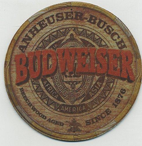 Budweiser Beer Barrel - Retro Coaster Set of 4 -