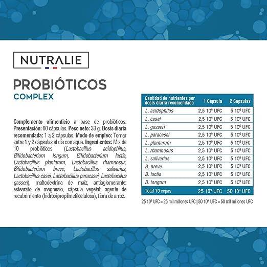 Probiótico 50 mil millones de UFC garantizados por dosis   10 ...