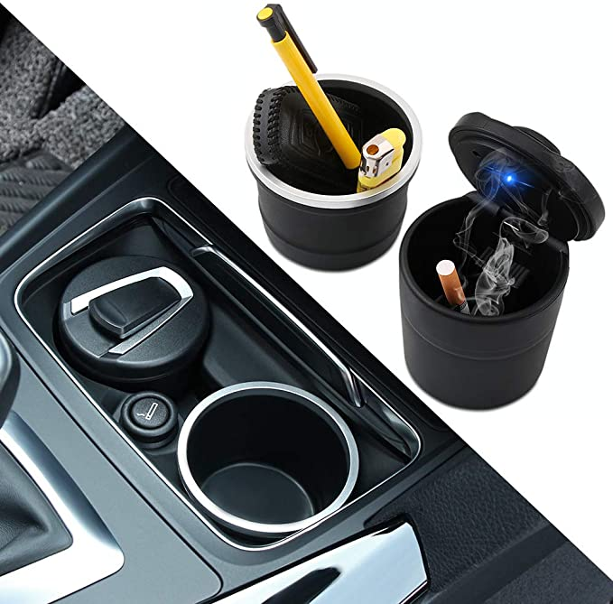 new Car Portable Ashtray Accessories for suzuki grand vitara audi q7 bmw f10 ix35 audi q5 scirocco volvo xc60 Car-styling Udele-Store