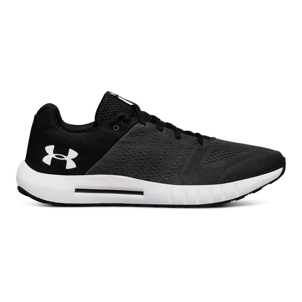 Under Armour Men's Micro G Pursuit Running Shoe, Anthracite (102)/Black, 7 M US by Under Armour (Image #1)