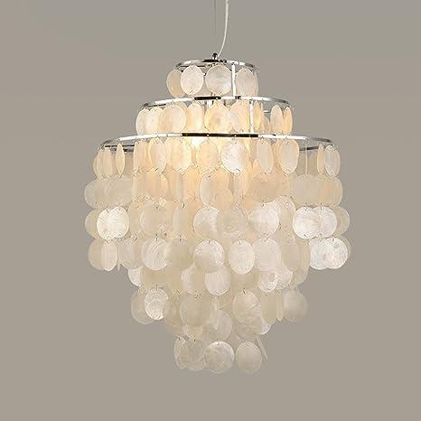Buona lampadario Europea , Lampadari Salotto In Stile Romantico Conchiglie  Shell Lampadari Naturali Lampadari Lampada (