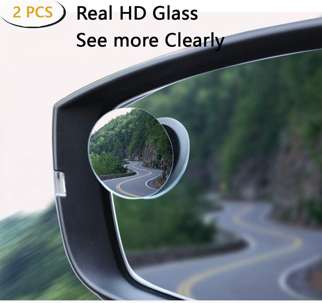Juego de espejos para punto ciego /ángulo amplio ajustable