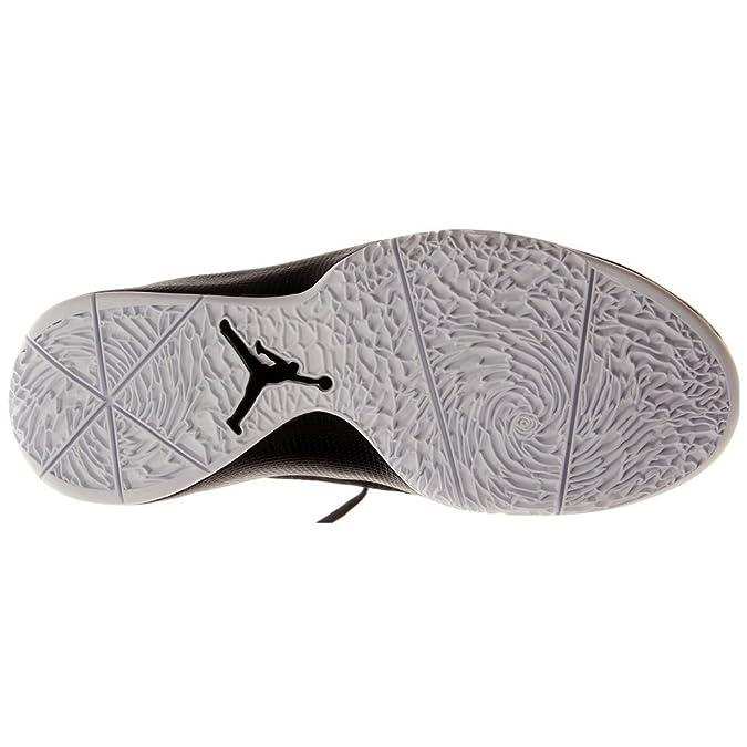 Jordan Nike Air 2011 Q Flight Mens Basketball Shoes Black White  454486-006-11.5  Amazon.co.uk  Shoes   Bags 825d132d9