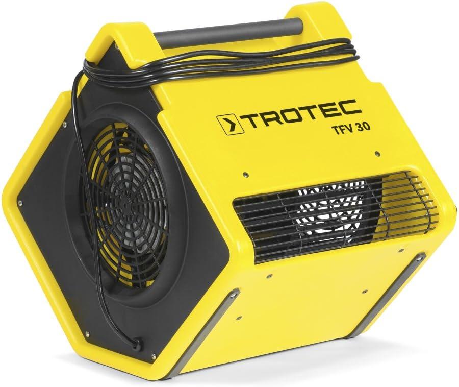 TROTEC Ventilador turbo TFV 30, 850 W, Ventiladores centrífugos de ...
