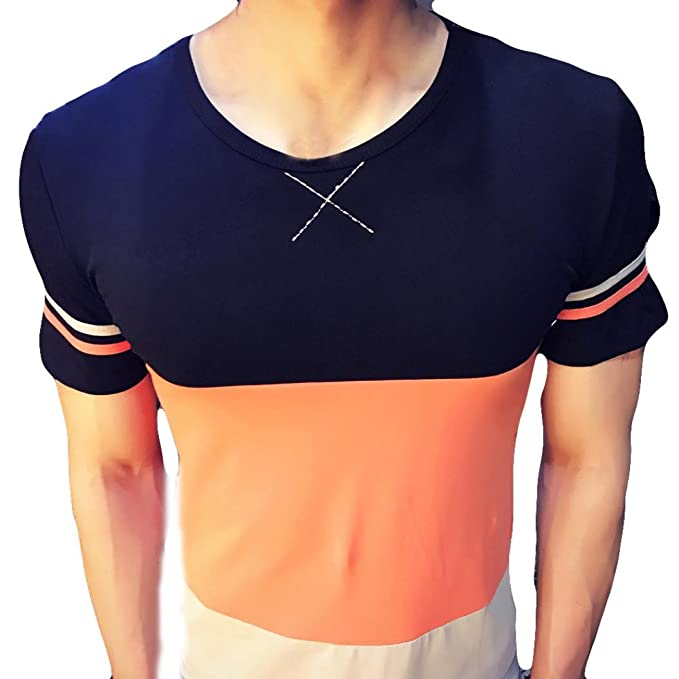 062e6f54fe8f Homebaby® Estivi Maglietta Manica Corta Uomo Casual - Camicia T-Shirt Uomo  Sportivi Vintage Cotone Stretch Maglione Tumblr Elegante Estiva Particolari  ...