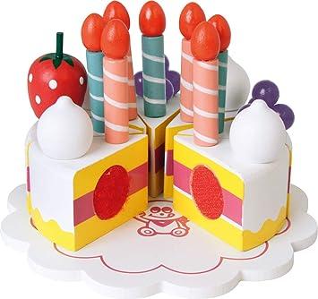 Beluga 70587 - Tarta de cumpleaños de madera (30 piezas ...