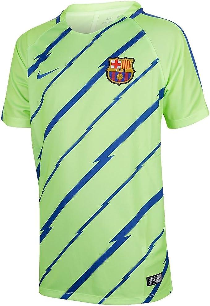 Nike Fcb Y Nk Dry Sqd Ss Gx Camiseta de Manga Corta Fc ...