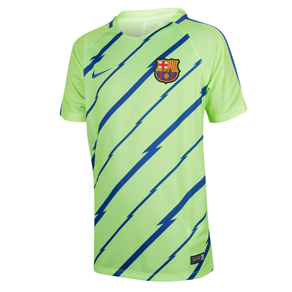 Nike Fcb Y Nk Dry Sqd Ss Gx Camiseta de Manga Corta Fc Barcelona ...
