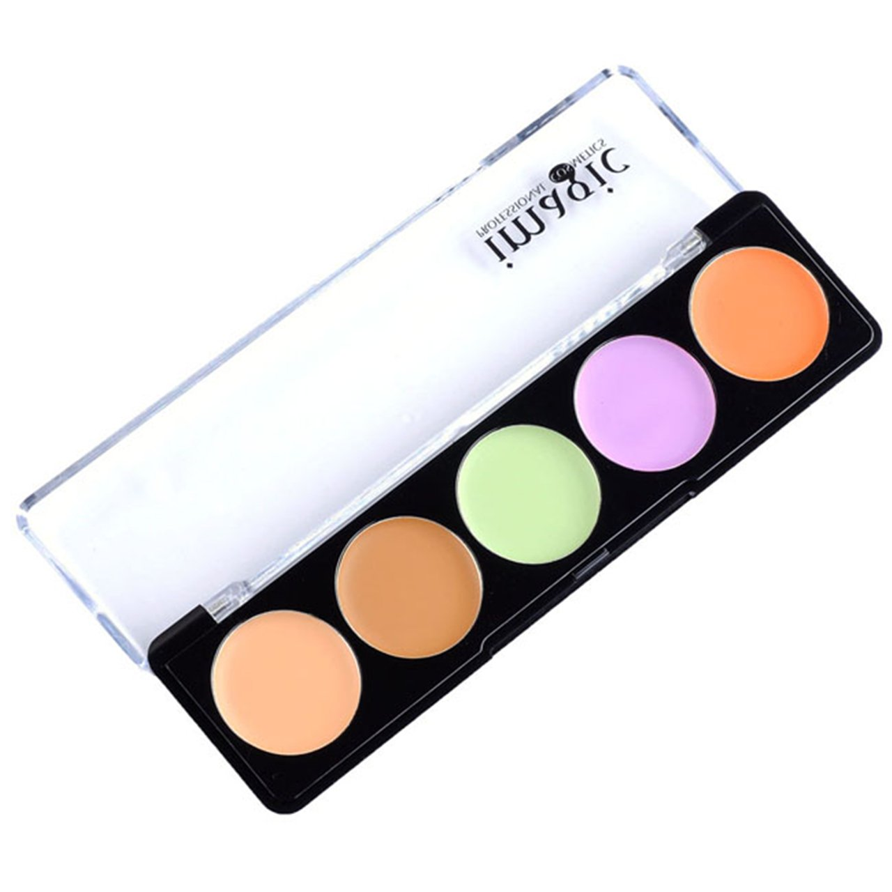 CCbeauty Concealer Palette 10 Colors Foundation Makeup Palette Concealer Camouflage Palette Contour Kit Face Makeup 2 Case