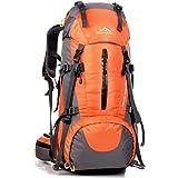 50L/80L Travel Sac à dos, idéal pour Outdoor Sport, Randonnée, trekking, camping voyage, alpinisme. bergsteigta étanche Sche, reiseklettern Sac à dos, sac à dos, sac à dos