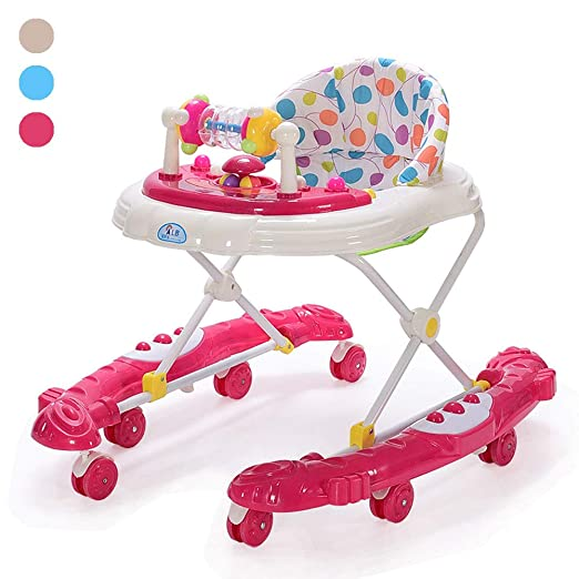 ZHANGYU Andador para bebés con Sistema de Frenos Altura ...
