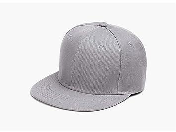 Yizhu Clásico diseño Puro Flat Bill Snapback Sombreros Gorras de ...