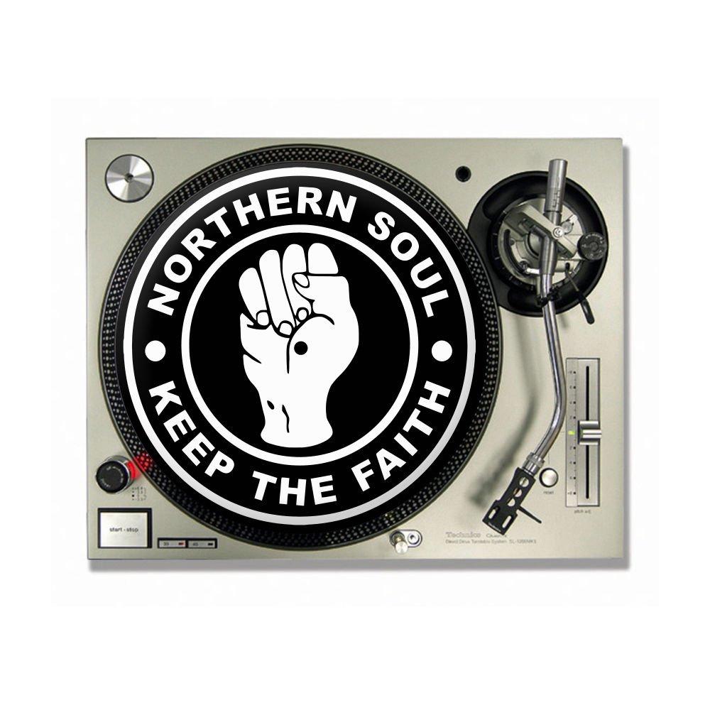 Northern Soul - mantener la FE DJ Slipmats Tocadiscos/Slip Mats X ...