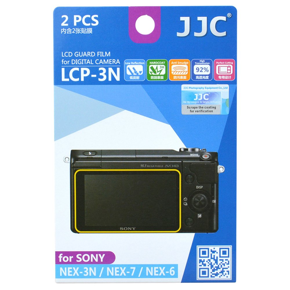 JJC LCP-3N LCD Film Screen Protector (For..
