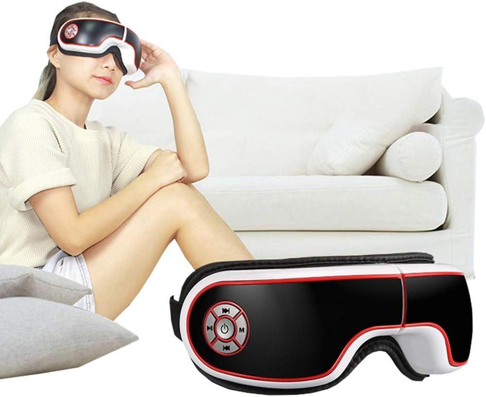 ZJ El Nuevo Masajeador De Ojos Máscara De Ojos Protector De Ojos Inteligente Bluetooth Música Vibración Presión De Aire Compresa Caliente Masajeador De Ojos Multifuncional Plegable