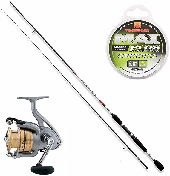 Kit Trout Area caña pesca Forward II 210 cm + Carrete Crossfire + ...