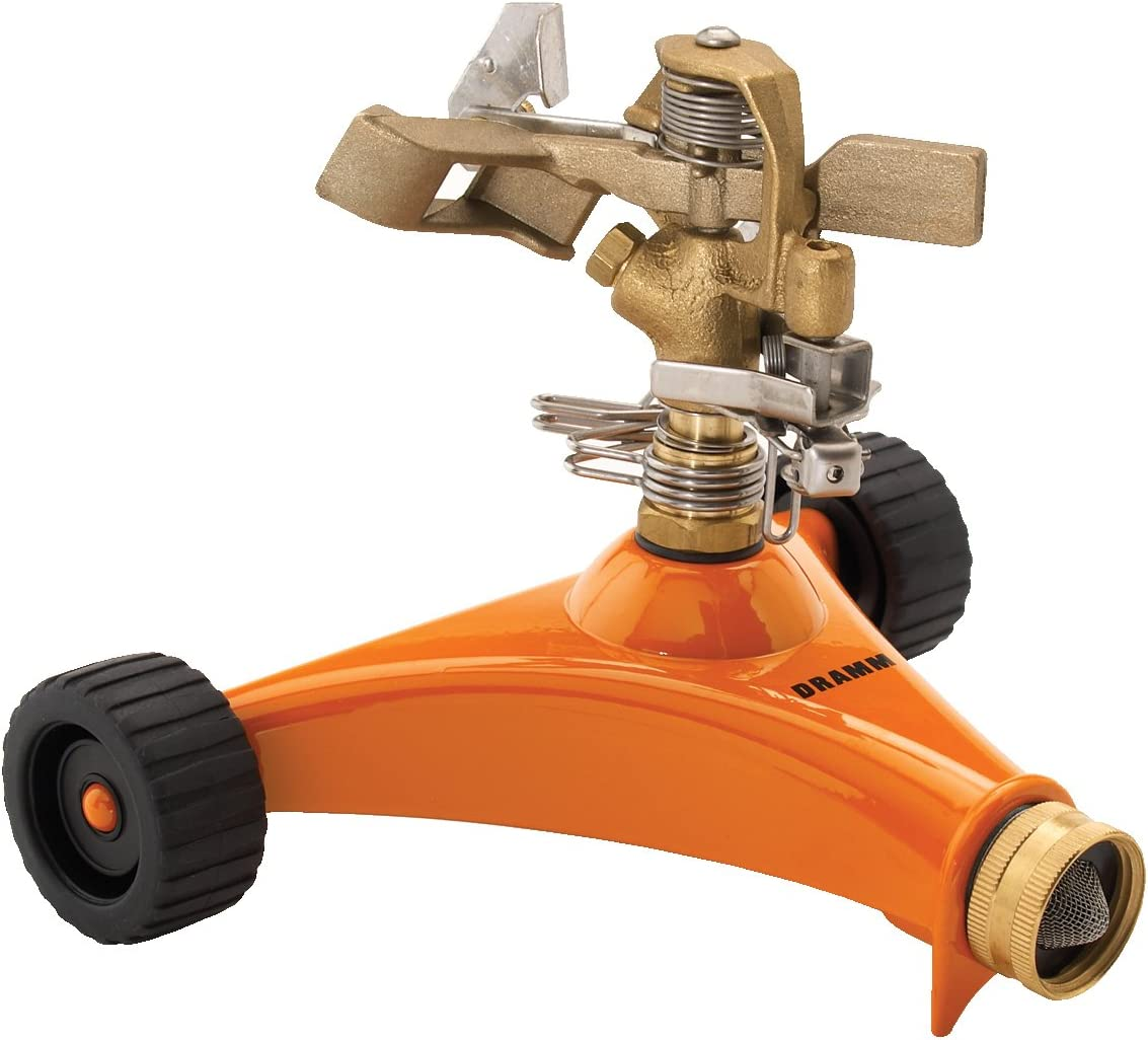 Dramm 15032 Impulse Sprinkler, Orange