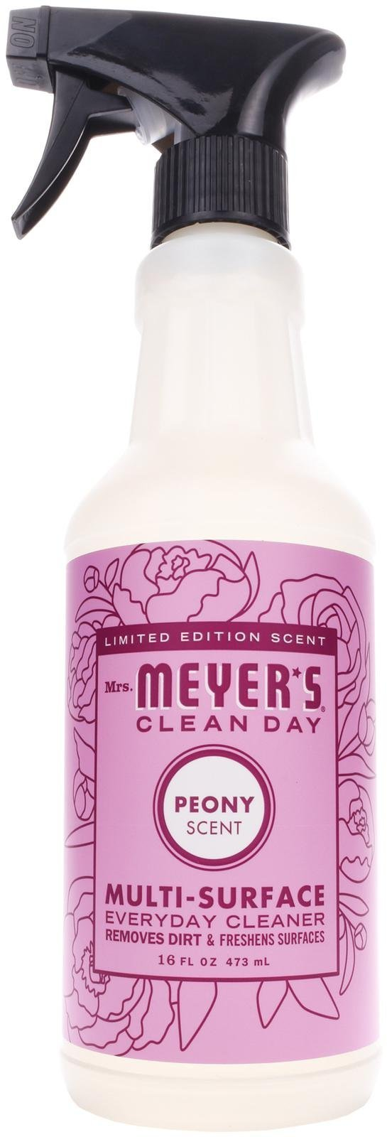 Mrs. Meyer's Clean Day Multi-surface Everyday Cleaner, Peony, 16.0 Fluid Ounce