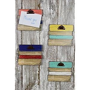Wood Plank Clipboards 10.25 x 8.5in - Excellent Home Decor - Indoor & Outdoor 72