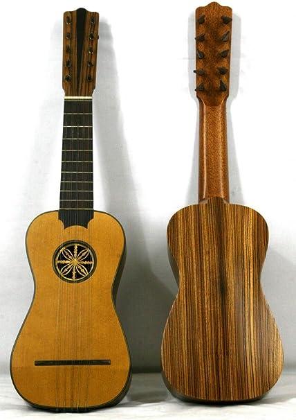 Musikalia luthery Battente guitarra con clavijas de madera – 3/4 ...