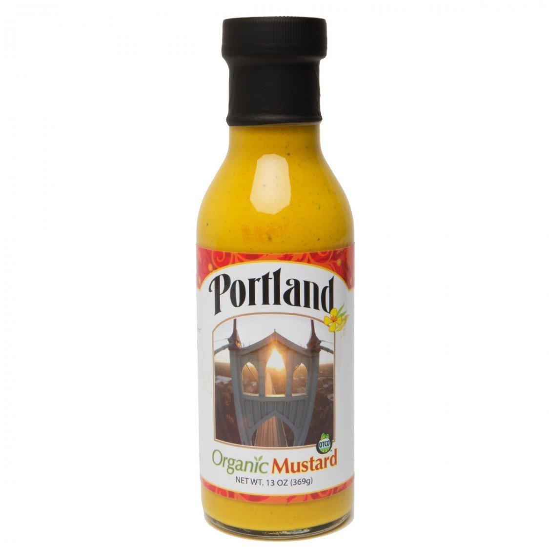 Portland Organic Mustard, Paleo Approved, 13 Oz