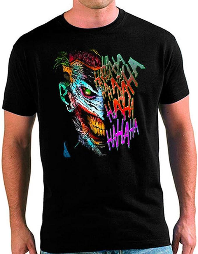 Mx Games Camiseta Joker Hahaha (XXXL): Amazon.es: Juguetes y juegos