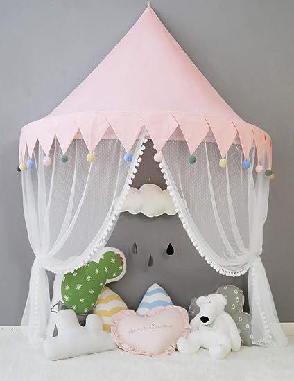 Nordic Ideas Baldachin Baby Rosa Betthimmel Mädchen Prinzessin Kinder  Babybett Himmel Kinderzimmer Spielzelt Moskitonetz Deko Babyzimmer  Geschenke ...
