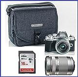 Olympus OM-D E-M10 Mark III (Mark 3) Digital Camera [Silver] + M.Zuiko Digital ED 14-42mm f/3.5-5.6 EZ Lens (Silver) + M.Zuiko Digital ED 40-150mm f/4.0-5.6 R Lens (Silver)