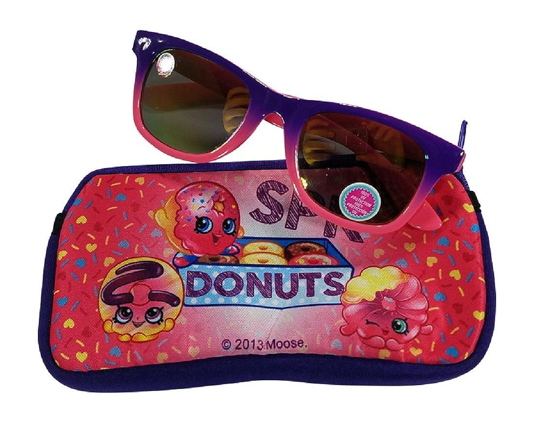 Shopkins Girls Sunglasses with Soft Case 100% UVA & UVB Protection