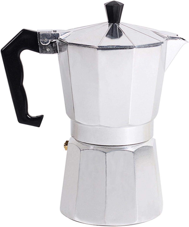 Kaffeemaschine Perkolator Moka Topf Herd Top Italienischer Stil Espresso Bohne