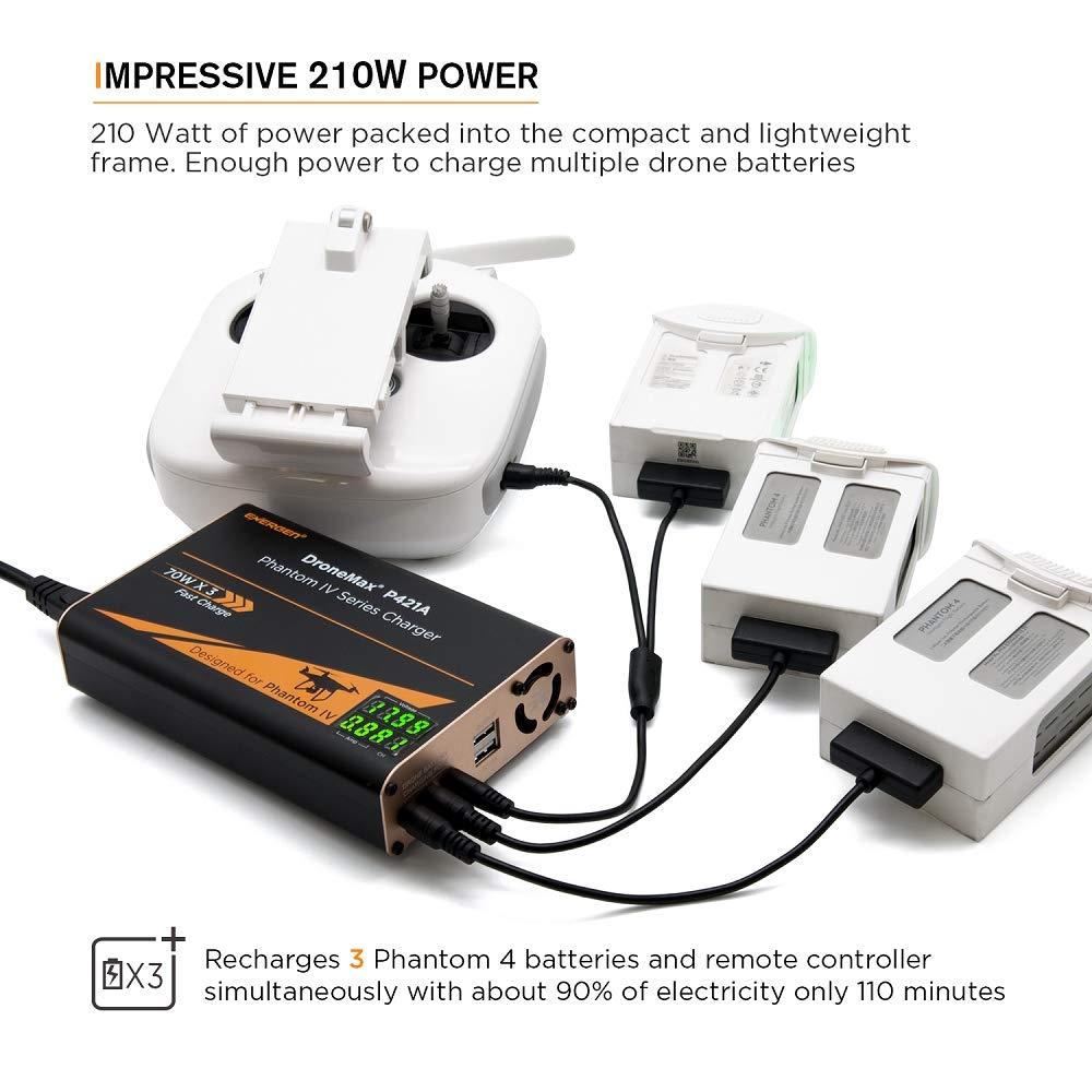 Energen DroneMax P421A AC Power Drone - Cargador de batería para ...