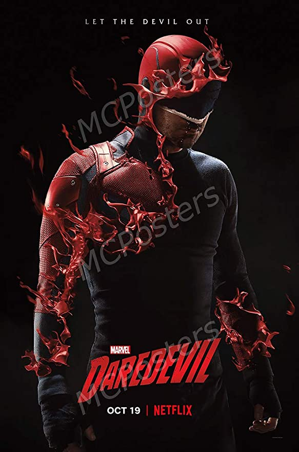 Daredevil temporada 2-Marvel Comics TV Series Punisher Pared Arte Lienzo Fotos