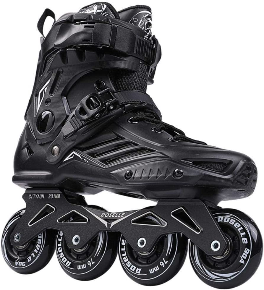 GETS Roller Skates Inline Skates Unisex Adjustable Four-wheel Skates Comfortable Roller Skates for Adults and Teens