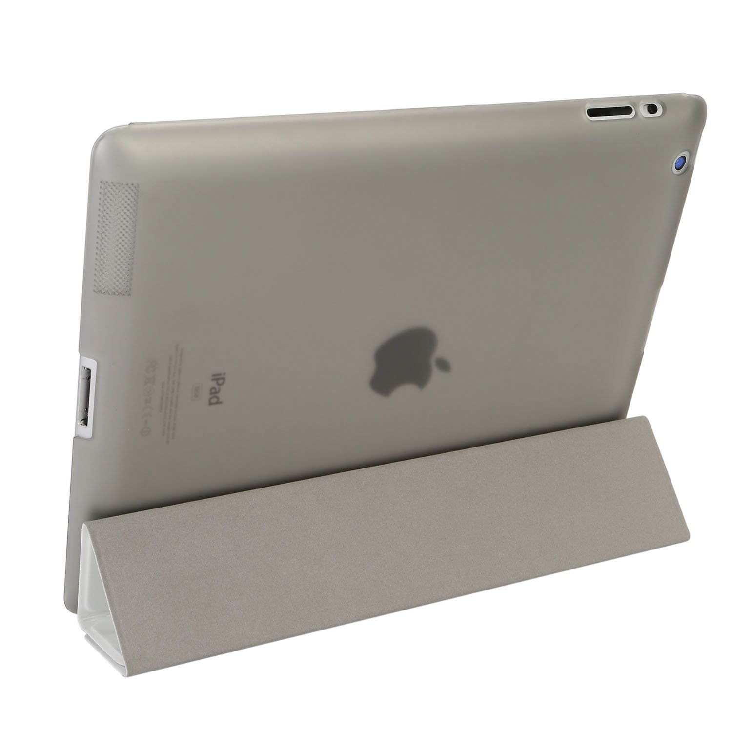 /Étui Bling Flip Smart Cover 360 /° en cuir pivotant pour iPad Air 2