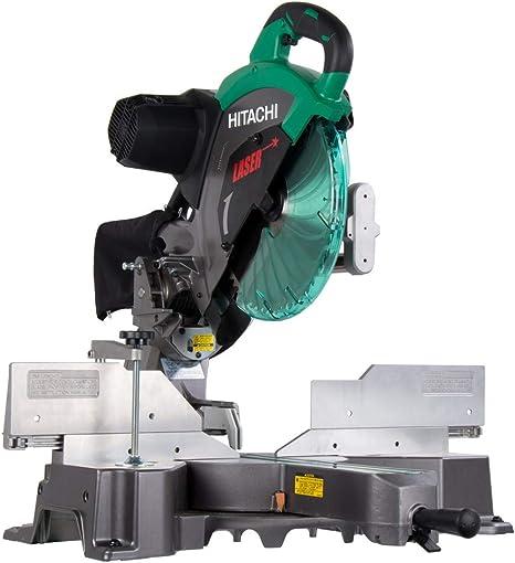 Hitachi C12RSH2 15-Amp 12-Inch Dual Bevel Sliding Compound Miter Saw with Laser Marker - - Amazon.com