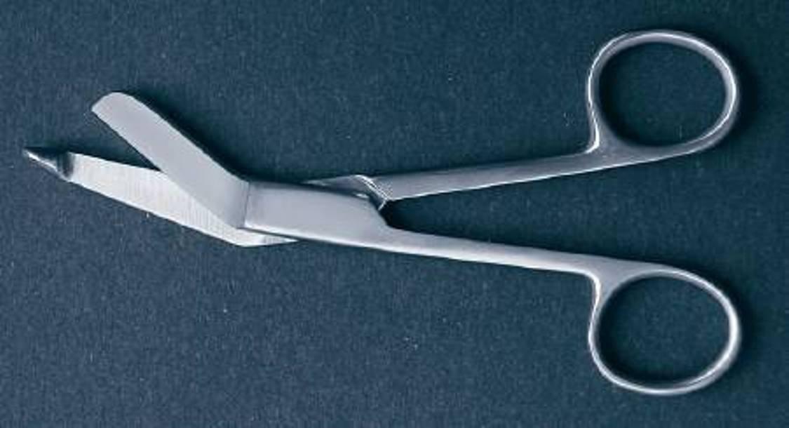 McKesson 43-1-226 Bandage Lister Bandage Scissor, Extra Fine, 4-1/2'' Length, 4.5'' Length