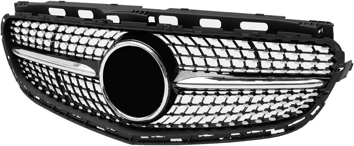 Auto K/ühlergrill For Autozubeh/ör W212 E-Klasse E200 E250 E350 E550 2014-2016 Auto Diamond Style Frontgrill Grill