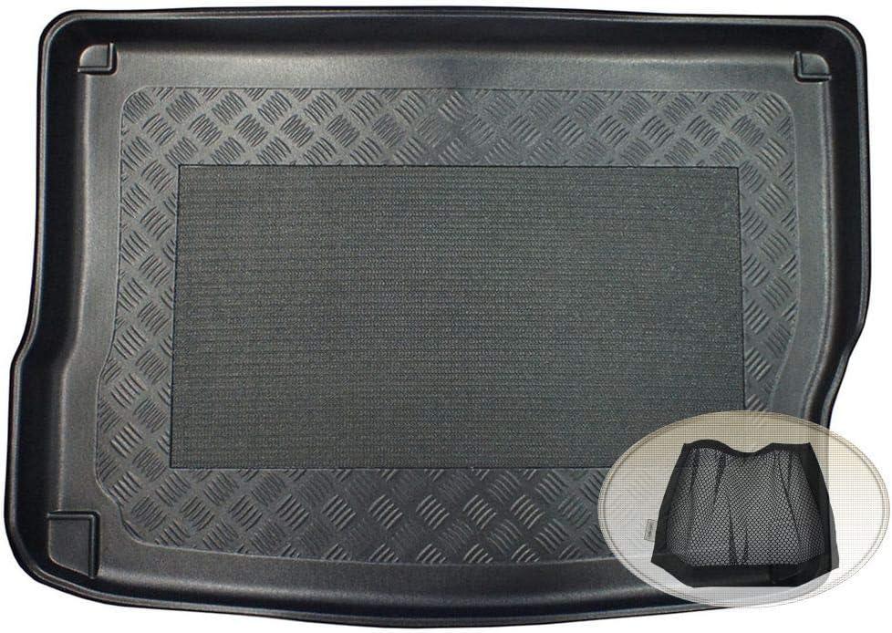 Klett-Organizer ZentimeX Z3078488 Antirutsch Kofferraumwanne fahrzeugspezifisch Laderaumwanne, Kofferraummatte