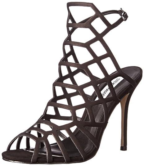 c6f553c50f4 Steve Madden Women s Slithur Leather Fashion Sandals  Buy Online at ...