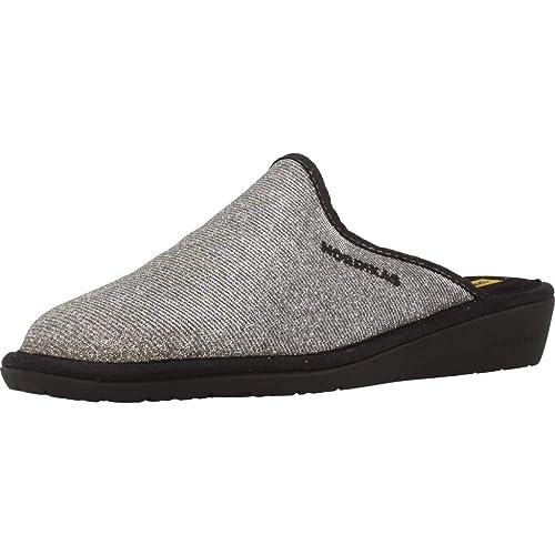 Zapatillas de Estar por casa de Mujer, Color Gold, Marca NORDIKAS, Modelo Zapatillas De Estar por Casa De Mujer NORDIKAS 347 8 Gold: Amazon.es: Zapatos y ...