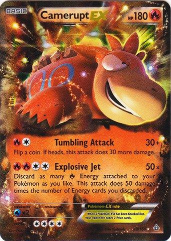 Pokemon - Camerupt-EX (29/160) - XY Primal Clash - Holo Ex Single
