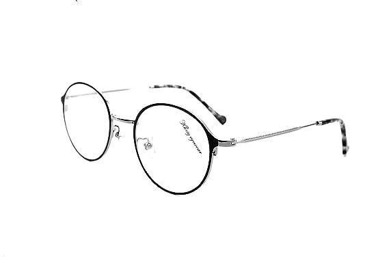 Amazon.com: D6071 KHOTY 2018 New Fashion Eyeglasses Frame Imported ...