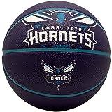 Spalding Charlotte Hornets Rubber Basketball