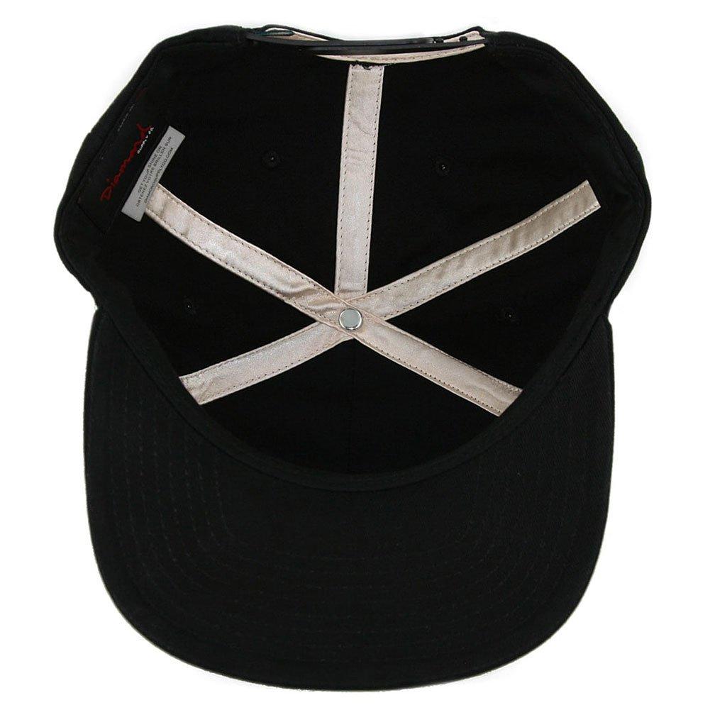 d2b074ed99f Diamond Supply Co. x Deathwish Snapback Hat Black  Amazon.co.uk  Clothing