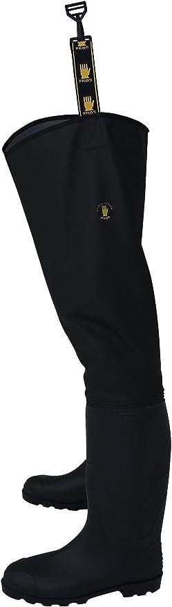 noir PROS//3Kamido Bottes cuissardes /«/Standard//» de qualit/é pour p/êcheurs professionnels