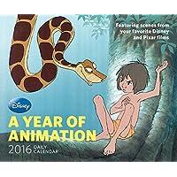 2016 Daily Calendar: Disney: A Year of Animation
