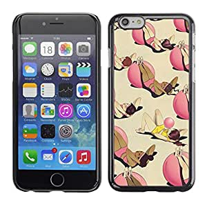 All Phone Most Case / Hard PC Metal piece Shell Slim Cover Protective Case for Apple Iphone 6 Exercise Training Fitness Ball Deep Funny