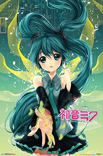 "Trends International Hatsune Miku Notes Wall Poster 22.375"""