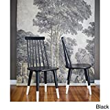ANGELOHOME angelo:HOME Hermosa Dining Chair (Set of 2) Black/White